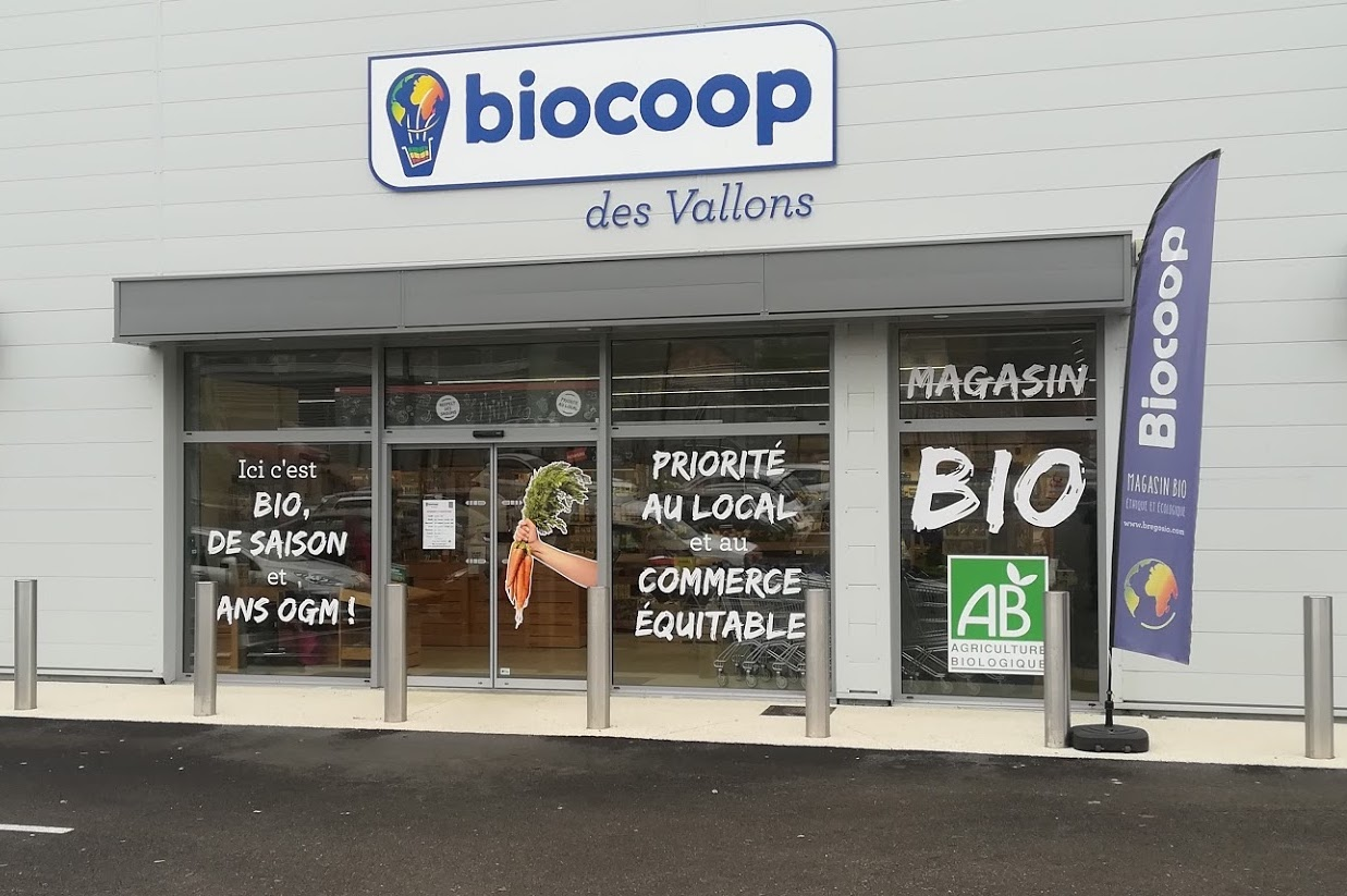 Biocoop Des Vallons Magasin Bio A St Jean De Soudain